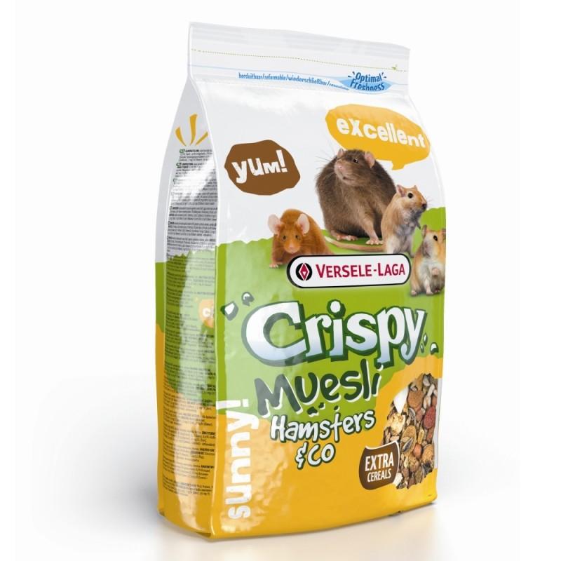 Vente en ligne de CROQUETTES RONGEURS Crispy Snack Fibres 2KG75 - Versele-Laga 0