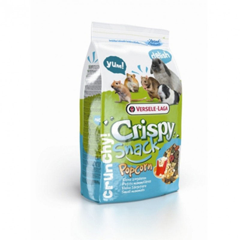 Vente en ligne de CROQUETTES RONGEURS Crispy Pop Corn 1KG75 - Versele-Laga 0