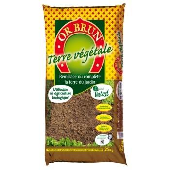 Achat Terre végétale 25 kg - Or Brun