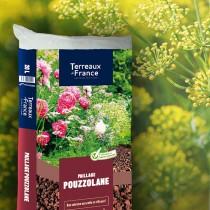 Pouzzolane 20 litres - Terreaux de France