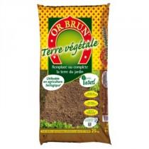 Terre végétale 25 kg - Or Brun