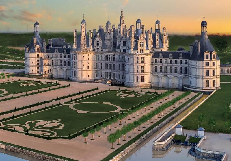 Suivez la reconstitution des jardins de Chambord et la plantation de nos arbres fruitiers formés !