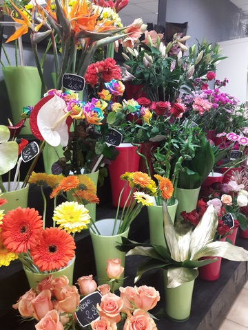 bouquets floraux Noel